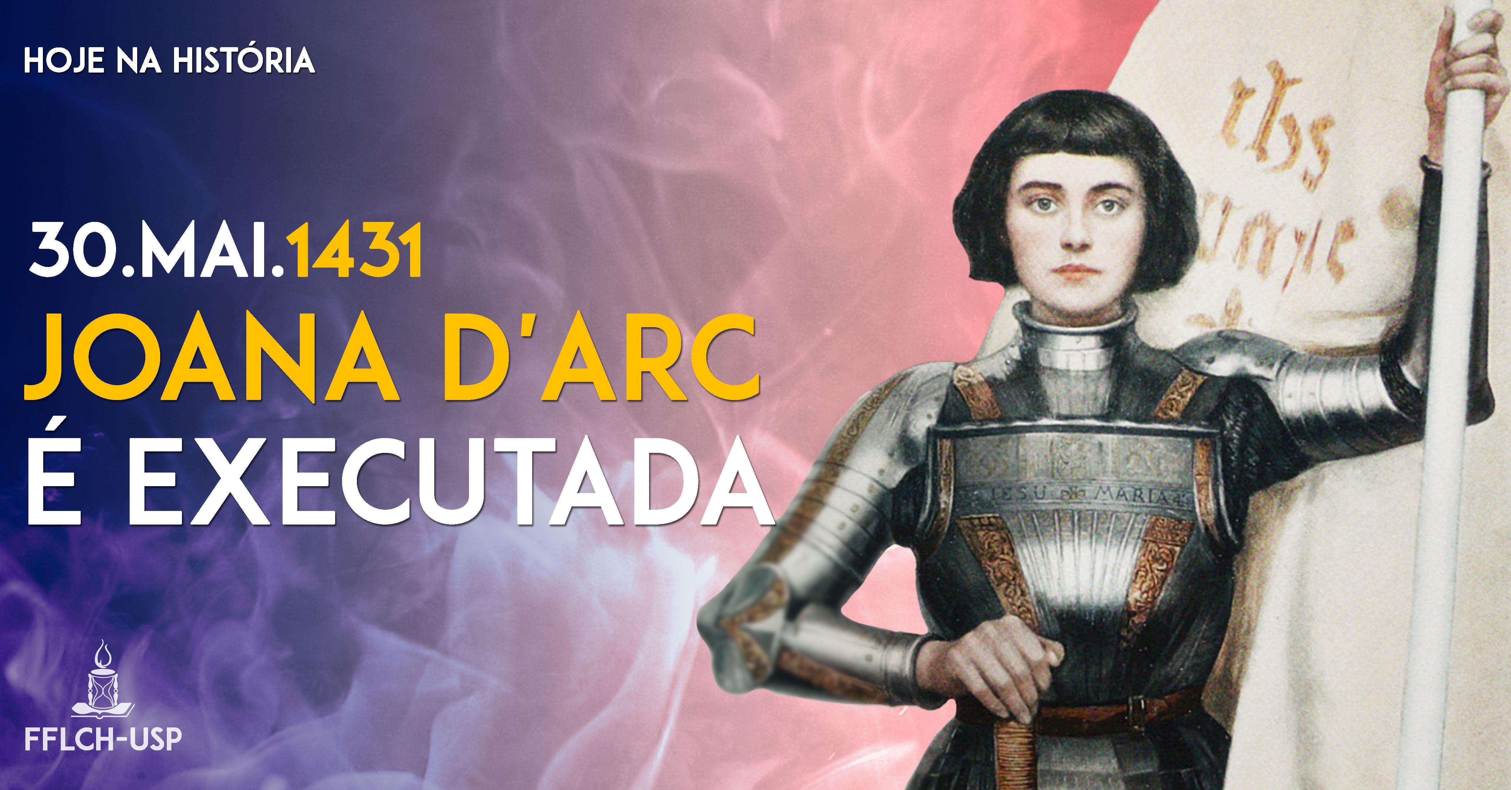 Joana d Arc é executada pela Igreja Católica (Arte  Renan Braz) 38db8c4289d5d